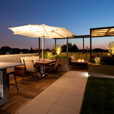 Traditional Deck by Chicago Green Design Inc.