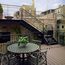 Traditional Deck by Foster Dale Architects, Inc.