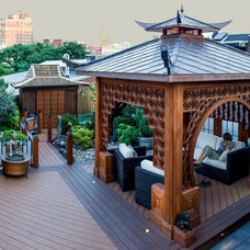Asian Deck by Metal Roof Network