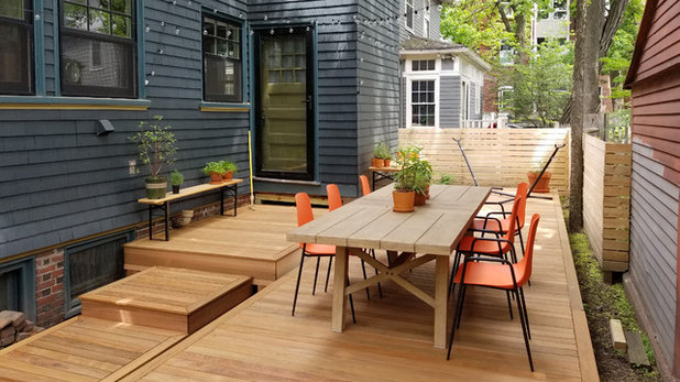 Contemporary Deck by OPRCH