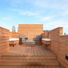 Contemporary Deck by Lazor Design