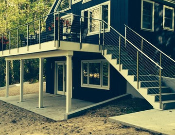 Clearview® Exterior Cable Railing - NH