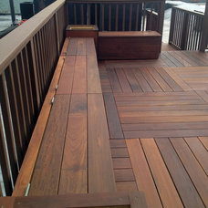 Contemporary Patio by City Decks New York, LLC