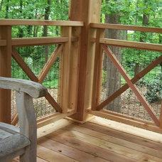 Traditional Deck by Tara Dillard & Associates