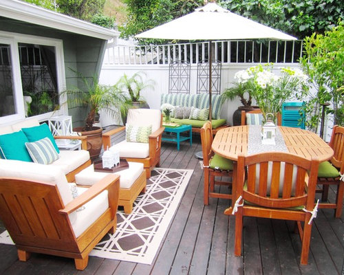 Inspiration For A Contemporary Deck Remodel In Los Angeles