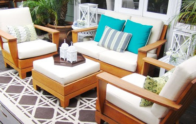 Rich Looks for Thrifty Outdoor Rooms