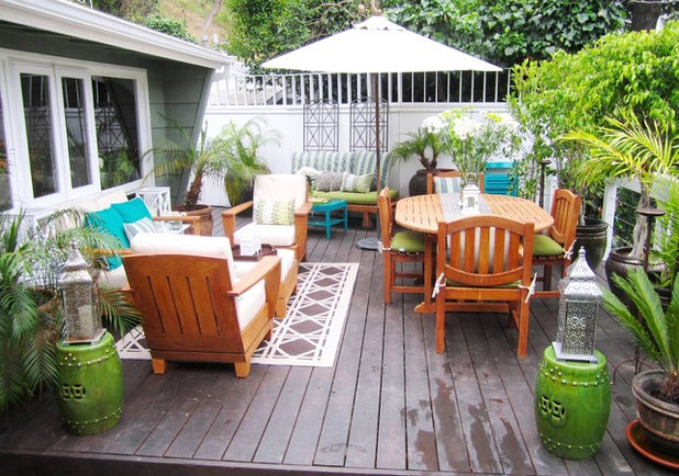 Eclectic Deck by COCOCOZY