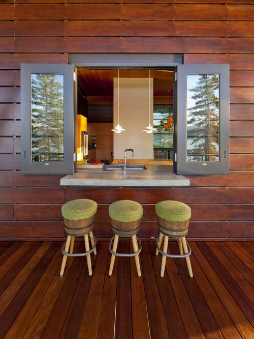 Kitchen Pass Through Window | Houzz