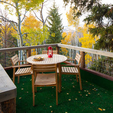 Rustic Deck by Missy Brown Design
