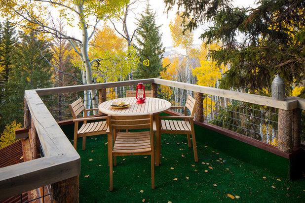 Rustic Deck by Missy Brown Design