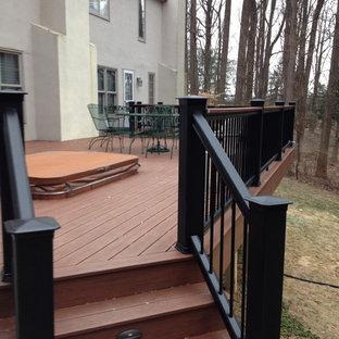 Inspiration for a craftsman deck remodel in Philadelphia