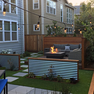 Contemporary Backyard Remodel