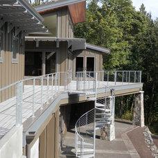 Contemporary Deck by Pelletier + Schaar