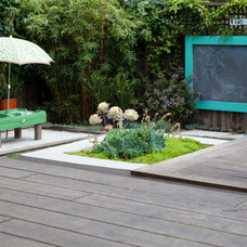 Contemporary Deck by Revive Landscape Design