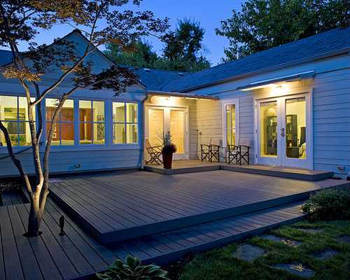 Multi level deck home design ideas pictures remodel and for Low deck designs