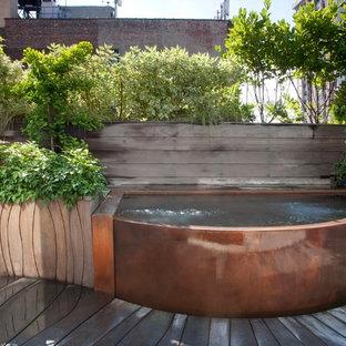 Copper Rooftop Hot Tub
