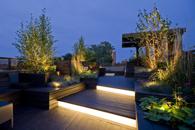 contemporary deck by dSPACE Studio Ltd