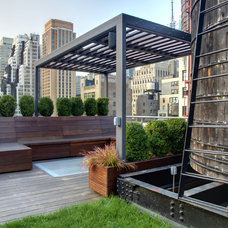 Contemporary Deck by M Cohen and Sons