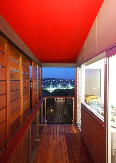 Contemporain Terrasse en Bois Contemporary Deck