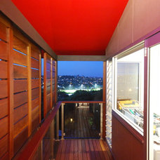 Contemporary Deck by Mackenzie Pronk Architects