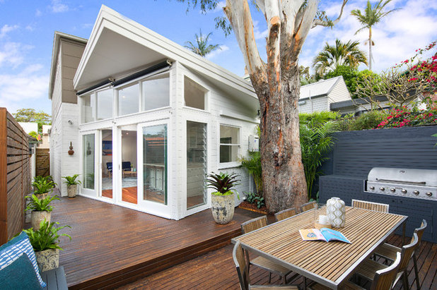Contemporary Deck by Pilcher Residential