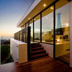 Contemporary ocean view - contemporary - dining room - los a.
