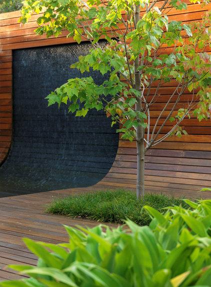Contemporary Deck Contemporary Patio