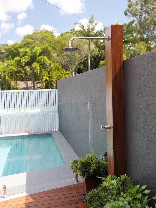 Fotos de terrazas dise os de terrazas modernas con ducha - Duchas para terrazas ...