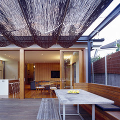 contemporary patio by Sam Crawford Crawford Architects