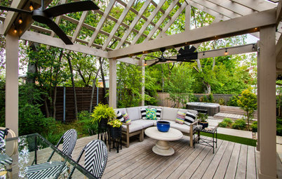 Outdoor Areas for Year-Round Dining, Lounging and Soaking
