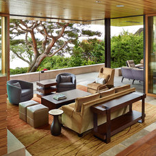 Contemporary Porch by DeForest Architects