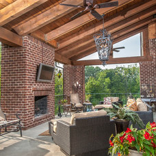 Traditional Deck by Cranbrook Custom Homes