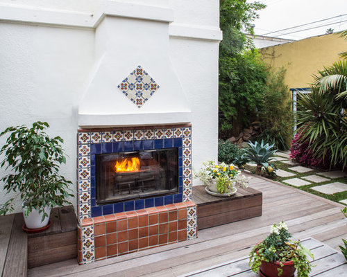 Spanish Fireplace Houzz