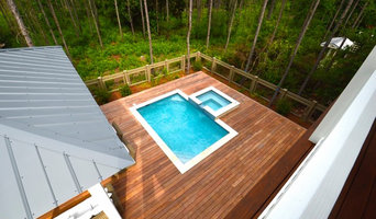 Cumaru Wood Pool Deck and Outdoor Living Space