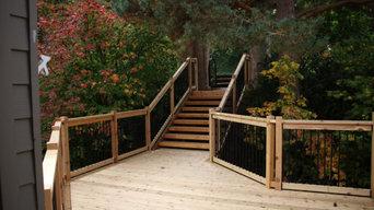 Custom Cedar/Composite Decks