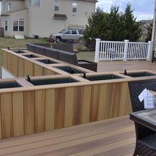Modern Deck by Dreamwork Home Improvements