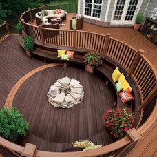 Contemporary Deck by ProBuilt Construction, Inc.