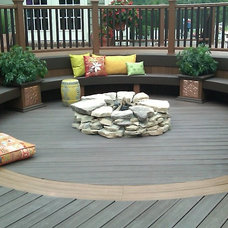 Traditional Deck by ProBuilt Construction, Inc.