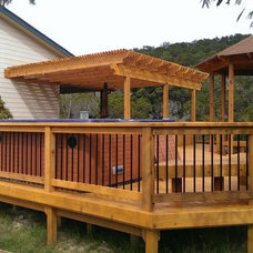 Rustic Deck by Timeless Sunsets