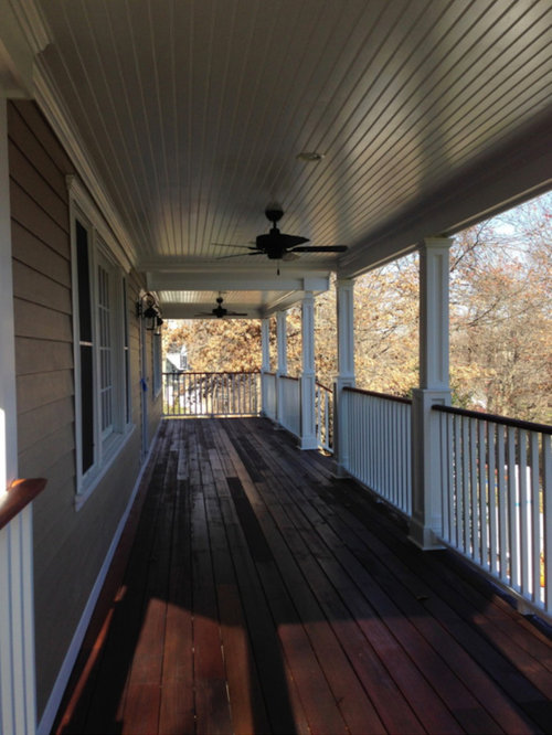 Second Floor Deck Ideas Houzz