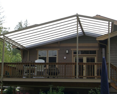 Backyard patio ideas for small spaces - Gabled Patio Cover Home Design Ideas Pictures Remodel And Decor