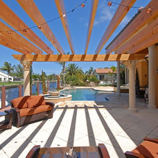 Mediterranean Deck by Dreamstar Custom Homes