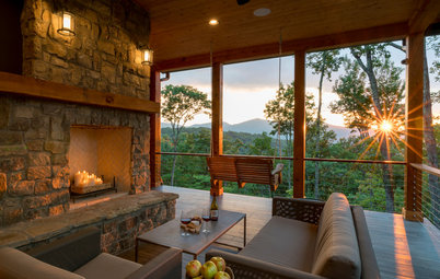 New This Week: 3 Outdoor Fireplaces to Warm Your Heart and Soul
