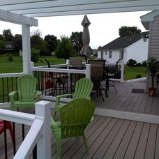 Traditional Deck by BREYER CONSTRUCTION & LANDSCAPE
