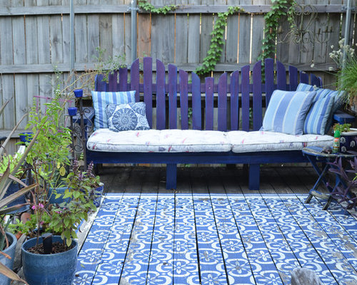 Painted Deck Houzz