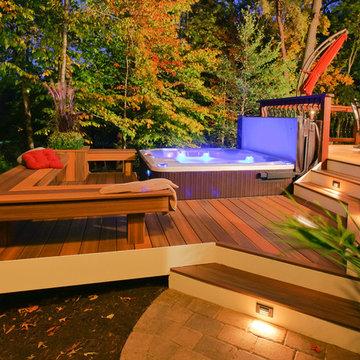 Davidsonville Radius deck