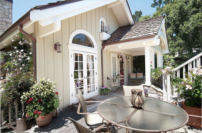Traditional Deck by Debra Campbell Design