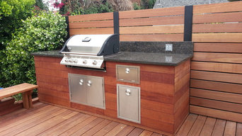 Deck and Custom BarBQue