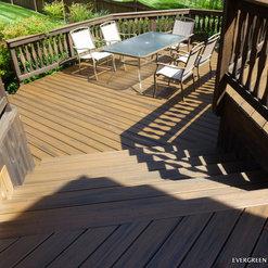 Evergreen Fence Deck
