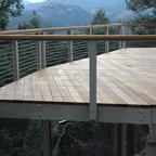 Decks Traditional Porch Denver By The Superior Finish